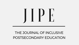 Image for The Journal of Inclusive Postsecondary Education (JIPE) has been launched.