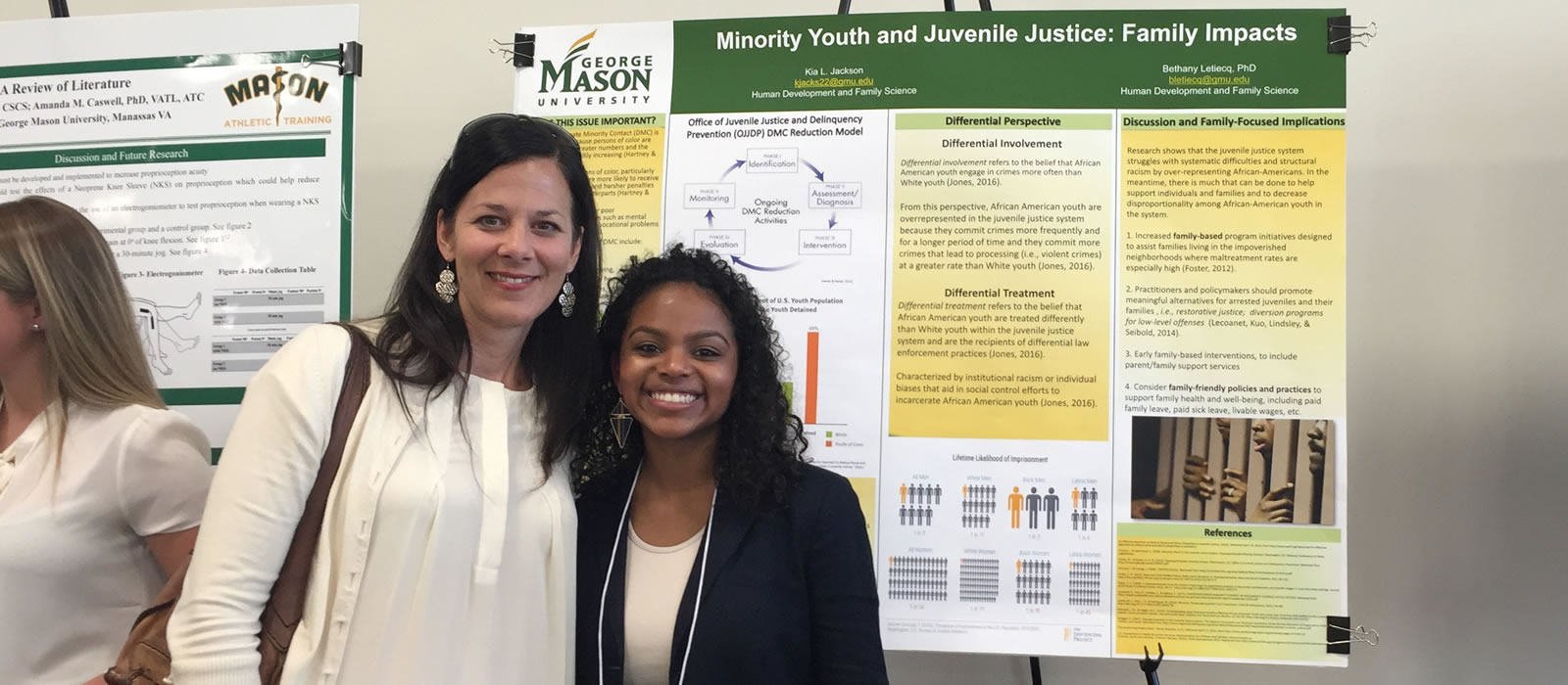Kia Jackson presents scholarly research